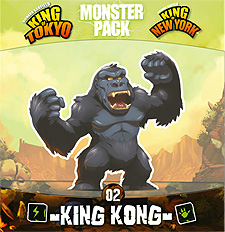 Spirit Games (Est. 1984) - Supplying role playing games (RPG), wargames rules, miniatures and scenery, new and traditional board and card games for the last 20 years sells King of Tokyo/New York Monster Pack 02 King Kong