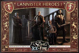 Spirit Games (Est. 1984) - Supplying role playing games (RPG), wargames rules, miniatures and scenery, new and traditional board and card games for the last 20 years sells A Song of Ice and Fire: Lannister Heroes 1