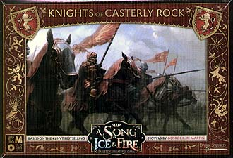 Spirit Games (Est. 1984) - Supplying role playing games (RPG), wargames rules, miniatures and scenery, new and traditional board and card games for the last 20 years sells A Song of Ice and Fire: Knights of Casterly Rock