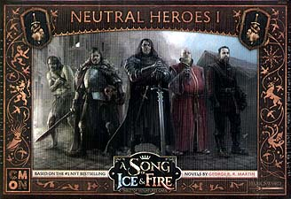 Spirit Games (Est. 1984) - Supplying role playing games (RPG), wargames rules, miniatures and scenery, new and traditional board and card games for the last 20 years sells A Song of Ice and Fire: Neutral Heroes 1