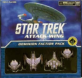 Spirit Games (Est. 1984) - Supplying role playing games (RPG), wargames rules, miniatures and scenery, new and traditional board and card games for the last 20 years sells Star Trek: Attack Wing Dominion Faction Pack