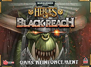 Spirit Games (Est. 1984) - Supplying role playing games (RPG), wargames rules, miniatures and scenery, new and traditional board and card games for the last 20 years sells Warhammer 40,000: Heroes of Black Reach - Ork Reinforcements