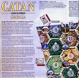 Spirit Games (Est. 1984) - Supplying role playing games (RPG), wargames rules, miniatures and scenery, new and traditional board and card games for the last 20 years sells Catan Geographies: Georgia