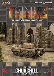 Spirit Games (Est. 1984) - Supplying role playing games (RPG), wargames rules, miniatures and scenery, new and traditional board and card games for the last 20 years sells Tanks: Lend Lease Churchill Expansion