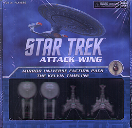 Spirit Games (Est. 1984) - Supplying role playing games (RPG), wargames rules, miniatures and scenery, new and traditional board and card games for the last 20 years sells Star Trek: Attack Wing Mirror Universe Faction Pack The Kelvin Timeline