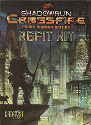 Spirit Games (Est. 1984) - Supplying role playing games (RPG), wargames rules, miniatures and scenery, new and traditional board and card games for the last 20 years sells Shadowrun Crossfire Prime Runner Refit Kit