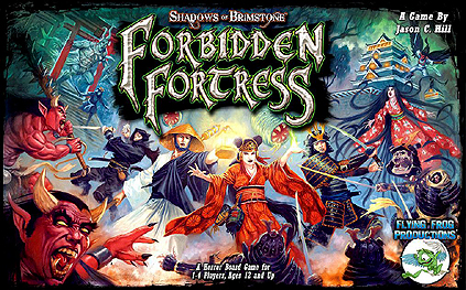 Spirit Games (Est. 1984) - Supplying role playing games (RPG), wargames rules, miniatures and scenery, new and traditional board and card games for the last 20 years sells Shadows of Brimstone: Forbidden Fortress