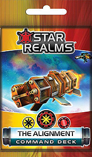 Spirit Games (Est. 1984) - Supplying role playing games (RPG), wargames rules, miniatures and scenery, new and traditional board and card games for the last 20 years sells Star Realms: The Alignment Command Deck