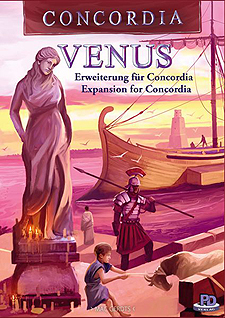 Spirit Games (Est. 1984) - Supplying role playing games (RPG), wargames rules, miniatures and scenery, new and traditional board and card games for the last 20 years sells Concordia: Venus Expansion