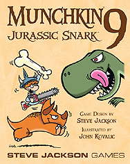 Spirit Games (Est. 1984) - Supplying role playing games (RPG), wargames rules, miniatures and scenery, new and traditional board and card games for the last 20 years sells Munchkin 9: Jurassic Snark