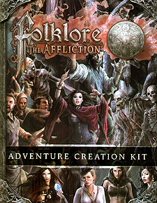 Spirit Games (Est. 1984) - Supplying role playing games (RPG), wargames rules, miniatures and scenery, new and traditional board and card games for the last 20 years sells Folklore: The Affliction - Adventure Creation Kit and Story Journal