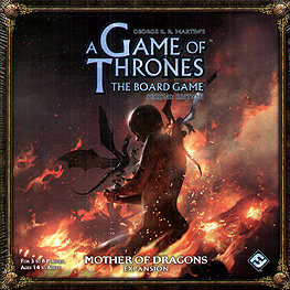Spirit Games (Est. 1984) - Supplying role playing games (RPG), wargames rules, miniatures and scenery, new and traditional board and card games for the last 20 years sells A Game of Thrones The Board Game 2nd Edition: Mother of Dragons Expansion