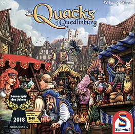 Spirit Games (Est. 1984) - Supplying role playing games (RPG), wargames rules, miniatures and scenery, new and traditional board and card games for the last 20 years sells The Quacks of Quedlinburg