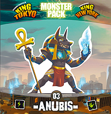 Spirit Games (Est. 1984) - Supplying role playing games (RPG), wargames rules, miniatures and scenery, new and traditional board and card games for the last 20 years sells King of Tokyo/New York Monster Pack 03 Anubis