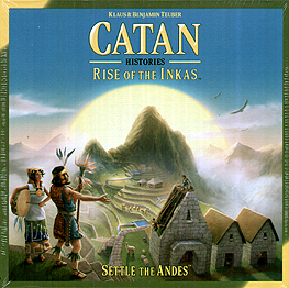 Spirit Games (Est. 1984) - Supplying role playing games (RPG), wargames rules, miniatures and scenery, new and traditional board and card games for the last 20 years sells Catan Histories: Rise of the Inkas