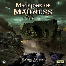 Spirit Games (Est. 1984) - Supplying role playing games (RPG), wargames rules, miniatures and scenery, new and traditional board and card games for the last 20 years sells Mansions of Madness 2nd Edition: Horrific Journeys
