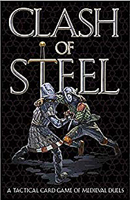 Spirit Games (Est. 1984) - Supplying role playing games (RPG), wargames rules, miniatures and scenery, new and traditional board and card games for the last 20 years sells Clash of Steel: A Tactical Card Game of Medieval Duels