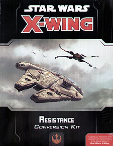 Spirit Games (Est. 1984) - Supplying role playing games (RPG), wargames rules, miniatures and scenery, new and traditional board and card games for the last 20 years sells Star Wars: X-Wing 2nd Edition Resistance Conversion Kit