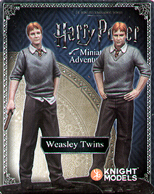 Spirit Games (Est. 1984) - Supplying role playing games (RPG), wargames rules, miniatures and scenery, new and traditional board and card games for the last 20 years sells Harry Potter Miniatures Adventure Game: Weasley Twins