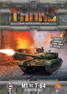 Spirit Games (Est. 1984) - Supplying role playing games (RPG), wargames rules, miniatures and scenery, new and traditional board and card games for the last 20 years sells Tanks: The Modern Age - M1 vs T-64 Starter Set
