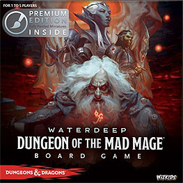Spirit Games (Est. 1984) - Supplying role playing games (RPG), wargames rules, miniatures and scenery, new and traditional board and card games for the last 20 years sells Waterdeep: Dungeon of the Mad Mage Board Game Premium Edition