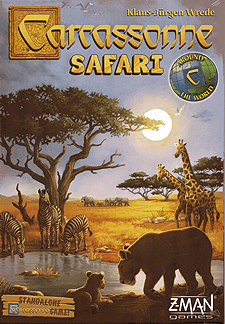 Spirit Games (Est. 1984) - Supplying role playing games (RPG), wargames rules, miniatures and scenery, new and traditional board and card games for the last 20 years sells Carcassonne Safari