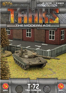 Spirit Games (Est. 1984) - Supplying role playing games (RPG), wargames rules, miniatures and scenery, new and traditional board and card games for the last 20 years sells Tanks: The Modern Age - T-72 Tank Expansion