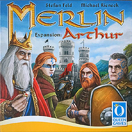Spirit Games (Est. 1984) - Supplying role playing games (RPG), wargames rules, miniatures and scenery, new and traditional board and card games for the last 20 years sells Merlin: Arthur Expansion