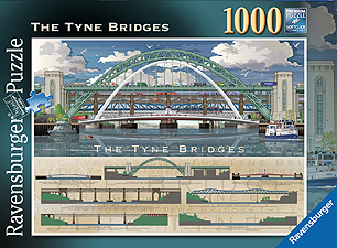 Spirit Games (Est. 1984) - Supplying role playing games (RPG), wargames rules, miniatures and scenery, new and traditional board and card games for the last 20 years sells Jigsaw: The Tyne Bridges 1000pc