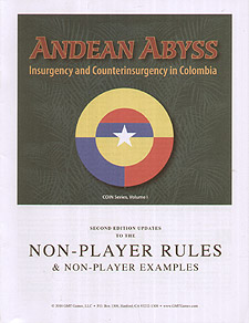 Spirit Games (Est. 1984) - Supplying role playing games (RPG), wargames rules, miniatures and scenery, new and traditional board and card games for the last 20 years sells Andean Abyss First Printing Update Kit