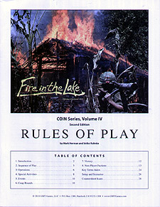 Spirit Games (Est. 1984) - Supplying role playing games (RPG), wargames rules, miniatures and scenery, new and traditional board and card games for the last 20 years sells Fire in the Lake Update Kit