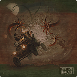 Spirit Games (Est. 1984) - Supplying role playing games (RPG), wargames rules, miniatures and scenery, new and traditional board and card games for the last 20 years sells Arkham Horror Third Edition Deluxe Playmat