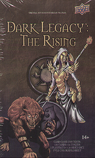 Spirit Games (Est. 1984) - Supplying role playing games (RPG), wargames rules, miniatures and scenery, new and traditional board and card games for the last 20 years sells Dark Legacy: The Rising - Darkness vs Divine