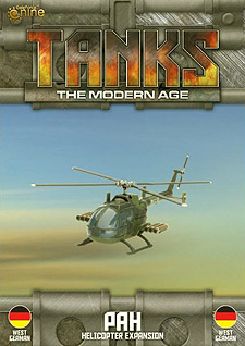 Spirit Games (Est. 1984) - Supplying role playing games (RPG), wargames rules, miniatures and scenery, new and traditional board and card games for the last 20 years sells Tanks: The Modern Age - PAH Helicopter Expansion