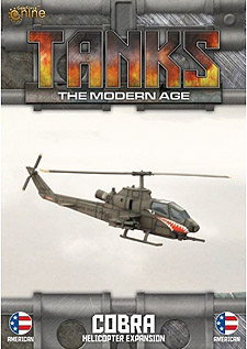 Spirit Games (Est. 1984) - Supplying role playing games (RPG), wargames rules, miniatures and scenery, new and traditional board and card games for the last 20 years sells Tanks: The Modern Age - Cobra Helicopter Expansion