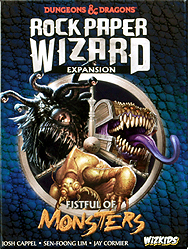 Spirit Games (Est. 1984) - Supplying role playing games (RPG), wargames rules, miniatures and scenery, new and traditional board and card games for the last 20 years sells Rock Paper Wizard: Fistful of Monsters