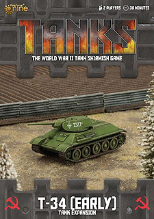 Spirit Games (Est. 1984) - Supplying role playing games (RPG), wargames rules, miniatures and scenery, new and traditional board and card games for the last 20 years sells Tanks: T-34 (early) Expansion