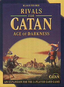 Spirit Games (Est. 1984) - Supplying role playing games (RPG), wargames rules, miniatures and scenery, new and traditional board and card games for the last 20 years sells Rivals for Catan Card Game Expansion: Age of Darkness New Edition