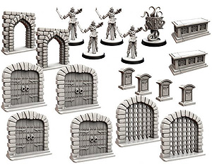 Spirit Games (Est. 1984) - Supplying role playing games (RPG), wargames rules, miniatures and scenery, new and traditional board and card games for the last 20 years sells Folklore: The Affliction - Terrain Miniatures Pack