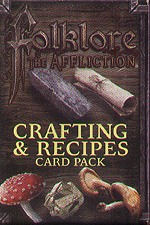 Spirit Games (Est. 1984) - Supplying role playing games (RPG), wargames rules, miniatures and scenery, new and traditional board and card games for the last 20 years sells Folklore: The Affliction - Crafting and Recipes