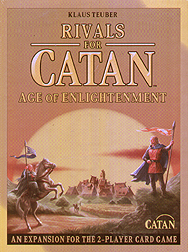 Spirit Games (Est. 1984) - Supplying role playing games (RPG), wargames rules, miniatures and scenery, new and traditional board and card games for the last 20 years sells Rivals for Catan Card Game Expansion: Age of Enlightenment New Edition
