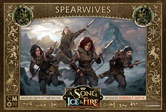 Spirit Games (Est. 1984) - Supplying role playing games (RPG), wargames rules, miniatures and scenery, new and traditional board and card games for the last 20 years sells A Song of Ice and Fire: Spearwives