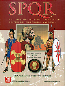Spirit Games (Est. 1984) - Supplying role playing games (RPG), wargames rules, miniatures and scenery, new and traditional board and card games for the last 20 years sells SPQR Deluxe: Great Battles of History Volume II (reprint)
