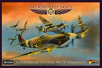 Spirit Games (Est. 1984) - Supplying role playing games (RPG), wargames rules, miniatures and scenery, new and traditional board and card games for the last 20 years sells Blood Red Skies: Supermarine Spitfire Mk IX Squadron