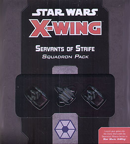 Spirit Games (Est. 1984) - Supplying role playing games (RPG), wargames rules, miniatures and scenery, new and traditional board and card games for the last 20 years sells Star Wars: X-Wing 2nd Edition Servants of Strife Squadron Pack