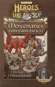 Spirit Games (Est. 1984) - Supplying role playing games (RPG), wargames rules, miniatures and scenery, new and traditional board and card games for the last 20 years sells Heroes of Land, Air and Sea: Mercenaries Expansion Pack #2