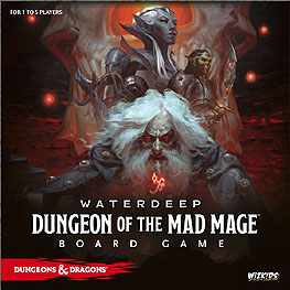 Spirit Games (Est. 1984) - Supplying role playing games (RPG), wargames rules, miniatures and scenery, new and traditional board and card games for the last 20 years sells Waterdeep: Dungeon of the Mad Mage Board Game
