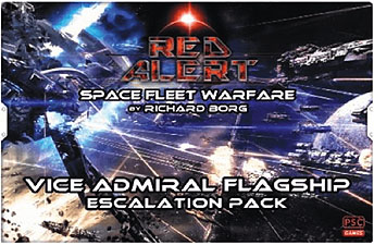 Spirit Games (Est. 1984) - Supplying role playing games (RPG), wargames rules, miniatures and scenery, new and traditional board and card games for the last 20 years sells Red Alert: Vice Admiral Flagship Escalation Pack