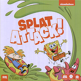 Spirit Games (Est. 1984) - Supplying role playing games (RPG), wargames rules, miniatures and scenery, new and traditional board and card games for the last 20 years sells Splat Attack!