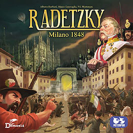 Spirit Games (Est. 1984) - Supplying role playing games (RPG), wargames rules, miniatures and scenery, new and traditional board and card games for the last 20 years sells Radetzky: Milano 1848